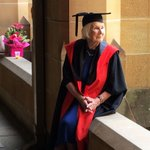 From Number 96 star to Austs oldest PhD graduate at 93 - meet Lis Kirkby, with @MoniqueSchafter on #abc730 tonight. http://t.co/FScC7SHJ3p