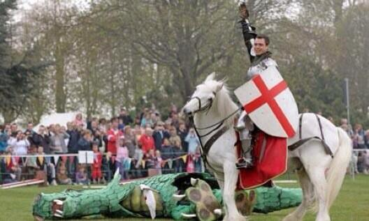 Happy St George's Day... Retweet if you're proud to be English... #StGeorgesDay http://t.co/UkztvXCwTn