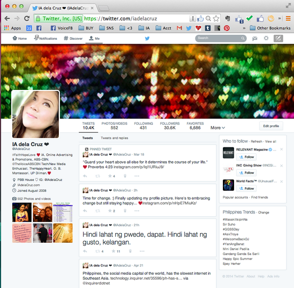 Twitter's new user profile page layout is now available to all users And yes, it looks like Facebook! #SocialMedia