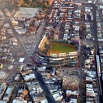 Happy 100th birthday to Wrigley Field! #wrigleyfield #cubs #chicago #chicagocubs #100thbirthday #gocubsgo http://t.co/yLC85UJeDn
