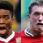 @MirrorFootball Northampton Town striker @ivantoney24 does his best @PhilJones4 impression. We reckon its a winner. http://t.co/roSX9zhPsU