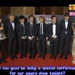 """@SMTownFamily: {ENGSUB} 140423 EXO M at 18th Music Award Ceremony Red Carpet http://t.co/scr5YrwYlY http://t.co/AperOvHcbm"""