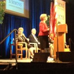 ML addresses Simons Leadership Conference attended by +3500 women! http://t.co/4NO7xphj6L