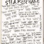 RT @SpotlightUK: Happy birthday Shakespeare. Which of these phrases did you know were originally coined by the Bard? #Shakespeare450th http://t.co/CtBADIO4gY