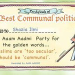 #ThisSummerIWill congratulate Shazai Ilmi for getting this certificate... But will not vote for her... Vote for #INC http://t.co/RUstHehJqq