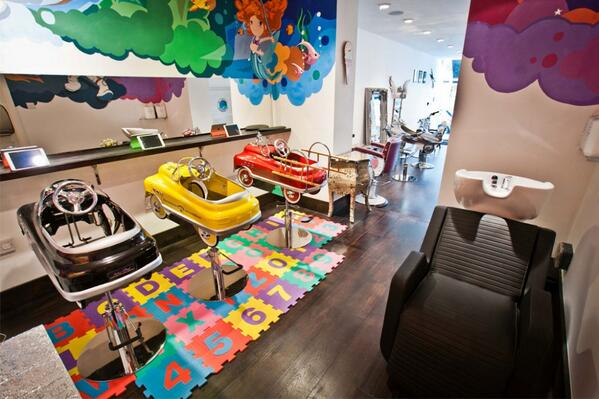 Child-friendly salon @BellaandBeauLDN has opened its doors in Notting Hill