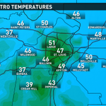 Big range in temps early this AM, from mid 30s to around 50-largely depends on a breeze #stlwx #ksdkwx Happy Hump Day http://t.co/NjpQxq4wes