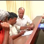 RT@ANI_news Varanasi: Arvind Kejriwal signs his nomination documents for LS Elections http://t.co/F1EvAX77Lx
