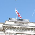 RT @foreignoffice: The flag of St George flies @ForeignOffice today. Happy St Georges Day! #StGeorgesDay http://t.co/Y88bub8WHP