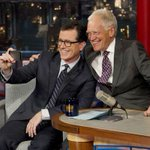 RT @USATODAY: One way to pass the torch: Colbert, Letterman take #LateShow selfie http://t.co/Z3NbCw8iQD (Photo: Jeffery Staab, AP) http://t.co/yoQ137xluf