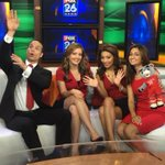 Love this! RT @TheRitaGarcia: Rockin #RED for @HoustonRockets at @MyFoxHouston! @FOX26Michelle @Fox26Mike @rashivats http://t.co/ecwqSLjVu4