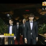 EXO-M in 18th China Music Awards Red Carpet now! http://t.co/PEOvt7A7kM