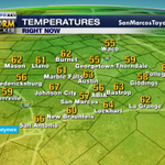 515am-Happy hump day! Trackin rain chances & 90s..yikes! Tune in: Wx & traffic every 10min #LiveonKEYE CBS TV #keyewx http://t.co/XfrWNXVZCM