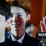 """@ExoticplanetID: 140423 Luhan at 18th China Music Awards Red Carpet cr. Luhandazed -FR http://t.co/bbZT9jUtD2"""