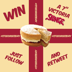 RT @SpongeCakesLtd: Happy St. Georges Day! For a chance to #WIN A Classic English Victoria Sponge Cake, just Follow & RT  #StGeorgesDay http://t.co/bvtz2sOygd