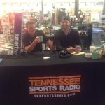 RT @TNSportsRadio: The @ErikAinge3 show is live from @gourmetsmarket this morning. 5107 Kingston Pike. Come on by! http://t.co/0aI96XA6P7