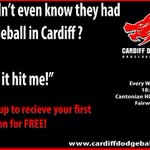 RT @CardiffDodge: @WelshBiz Please RT? #Dodgeball #Tonight in #Cardiff. Get your first session #Free http://t.co/6dsrKPfPgD