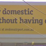 #NOTfunny MT @channeltennews: Advertising campaign by Avalon Airport has outraged anti-violence groups http://t.co/LkB4vokaet