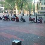 Its gameday! People already lined up for tickets. #cbj #WeAreThe5thLine http://t.co/aoRFD5XzoO
