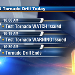 The Severe WX Awareness Week SD Tornado Drill is today. Take the time to prepare!! #sdwx http://t.co/ZDrOd9I9Hd