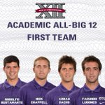 Congrats to Rodo, Nick, Arnau and Facundo for being named to the 2014 Academic All-Big 12 First Team! #TCU #GoFrogs http://t.co/gLyNaZXoui