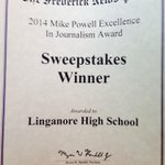 RT @lhsjournalism: Who won the most awards at the FNP? Oh yeah. #happydance @frednewspost http://t.co/q6WQgyNmrD