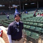 RT @zschonbrun: They look thrilled RT @bstrauss1 Ushers wearing birthday hats for Wrigleys 100th. http://t.co/KdomJsPSBd