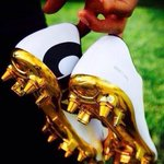 RT @UberAFC: RONALDO: The Ballon Dor winner will rock these golden boots for wining the award against Bayern Munich tonight! http://t.co/zB05tlq6e8