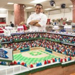 Happy 100th birthday, Wrigley! @Cubs will celebrate today with 400-pound cake replica of stadium from the Cake Boss. http://t.co/5rVhkTG1XB