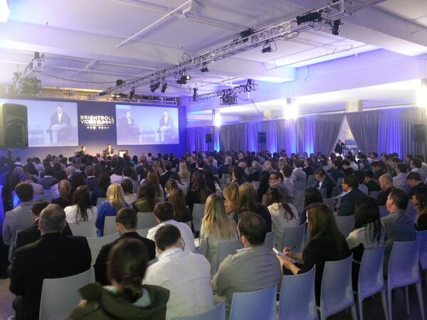 Record-setting 500 attendees at #BRVS today! @BrightRoll and @Yahoo chiefs chatting now.