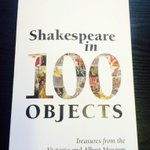 RT @NickHernBooks: Released today on #Shakespeare450th: the stunning @V_and_A co-pub SHAKESPEARE IN 100 OBJECTS - http://t.co/uz8tRehQk9 http://t.co/gy1btRGSpi