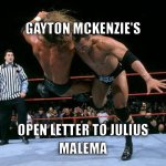This sums up Gaytons open letter to Malema http://t.co/kZB8ym6PbL