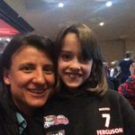 Best selfie of the year. Me & Auskicker of the Year, Skye Ferguson. #changethegame @aflvic @AFLAuskick http://t.co/MkDgJW31Si
