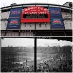 RT @SportsCenter: 100 years ago today, the 1st Major-League game was played at Wrigley Field (then known as Weeghman Park). » http://t.co/MWHY0chYqE
