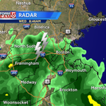 Lightning detection now picking up on some some bolts... numerous reports of thunder in metro west. #WCVB http://t.co/inWBttMoIZ