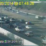 Bigger pic of that stall on SB 35 approaching Braker, on right shoulder. #ATXtraffic http://t.co/NBGW5mfAwK