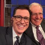 [WATCH] The New Guy Arrives: @Letterman Interviews New Host Stephen Colbert. More: http://t.co/w57DBMqAnJ #HouNews http://t.co/vNlwr2mOh4