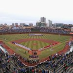 "RT Holy Cow!! @NBCSports ""The incomparable Wrigley Field turns 100 years old today.   http://t.co/ALqEoleclO"" http://t.co/WPY9NMwtXl"