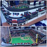 The #WrigleyField100 Cake Boss creation from @CarlosBakery has arrived, and it is cool. http://t.co/INecXJEXFs