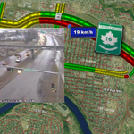 SLOW: Collision on Yellowhead & Beverly Bridge has traffic backed up past Victoria Tr. #yegtraffic http://t.co/vzP5HRnX8X
