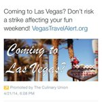 Hey @LVCVA, do you think this tweet that was promoted by @Culinary226 is good for #Vegas? http://t.co/Sl0iwNG6w6