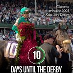 10 Days until the #KentuckyDerby! http://t.co/C6bBJ9Uck2