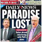 :( RT @NYDailyNews: Paradise lost: James Dolan already interfering with @PhilJackson11s plans http://t.co/kYOfexjl0u http://t.co/urJ2VGWGst