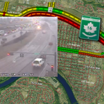 Traffic backed up past 50th now due to collision EB Yellowhead @ Beverly. #yegtraffic http://t.co/fsUThqjBJo