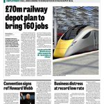 Excellent news for the rail industry in #Doncaster. From todays #Business Weekly supplement in The Star. #Sheffield http://t.co/S52Yz1FyP2