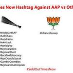 RT @PrinceKumarIITD: RT if u Agree : Arnab Uses Hash-tags Only against AAP, When It Comes To BJP Their # Key Doesnt Work. #ArnabWedsModi http://t.co/LYXhYMRwi2