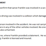 Sydney Swans complete statement on Lance Franklin car accident. http://t.co/4FbidwzReP