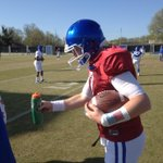 RT @KyleTucker_CJ: This is how Drew Barker gives back the water bottle. #analysis http://t.co/QCxeBuBUOZ