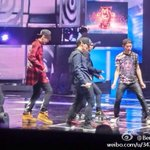 RT @EXO_FANBASE: [PIC] 140423 EXO-M @ 18th China Music Awards Rehearsal 3 (cr: Benny歐陽文) http://t.co/yXNT1ogFaQ