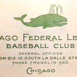 Brilliant RT @ToddRadom Happy birthday Wrigley Field the logo of the 1st club to call it home, the 14 Chicago Whales http://t.co/9W7Is8yqNT